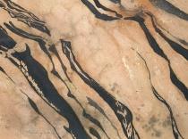 cissing, spatter and irridescent medium - Stone Tiger