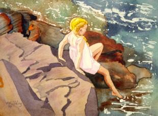 C2 - Killbear Park - Water Baby - near Lighthouse Point - Pamela Fielding